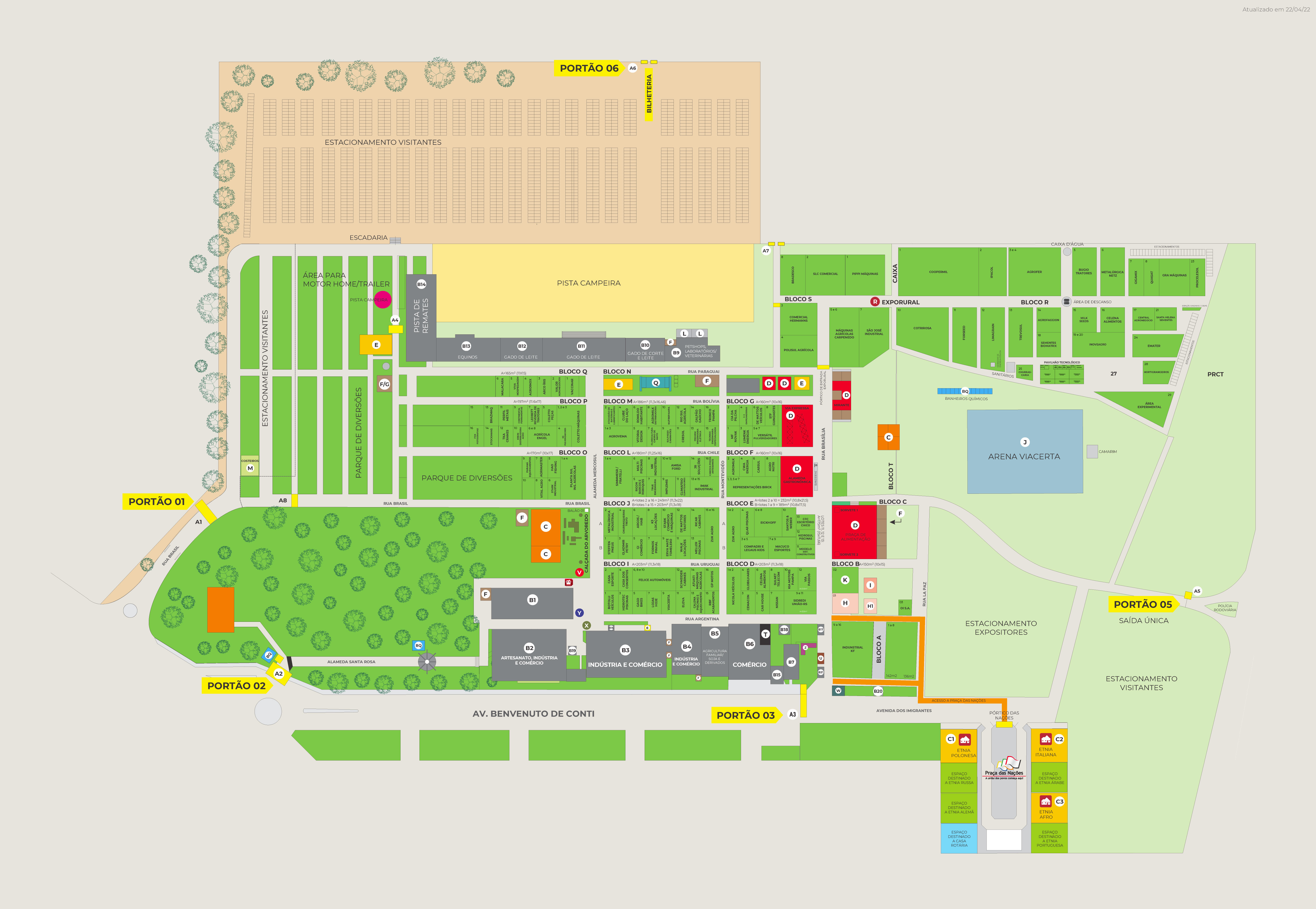 Mapas Fenasoja 2018
